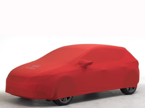 Kırmızı Araba Örtüsü